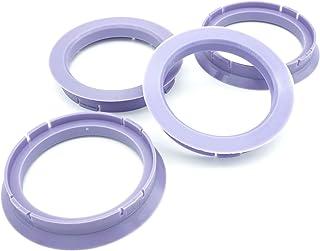 4x Zentrierringe 72,5 x 60,1/72 5 auf 60 1 Lila kompatibel mit Borbet