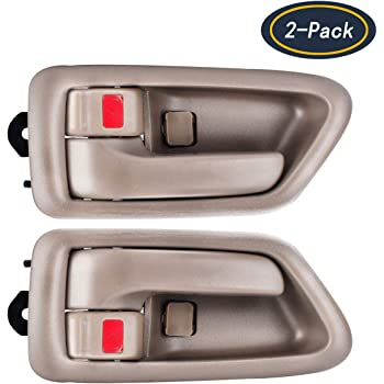 Amazon Com Autex Door Handles 2pcs Beige Inside Interior Front Rear Left Right Driver Passenger Side Door Handle 91005 91004 Home Improvement