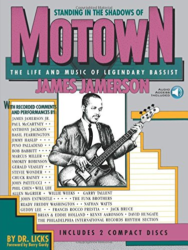 Standing In The Shadows Of Motown: Life & Music Of James Jamerson (Book & CD): Noten, Bundle, CD (2) für Bass-Gitarre: The Life and Music of Legendary Bassist James Jamerson