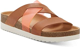حذاء نسائي من Lucky Brand Hafina مصنوع من الجلد، بلون اللاتيه الأخضر مقاس 7 M US