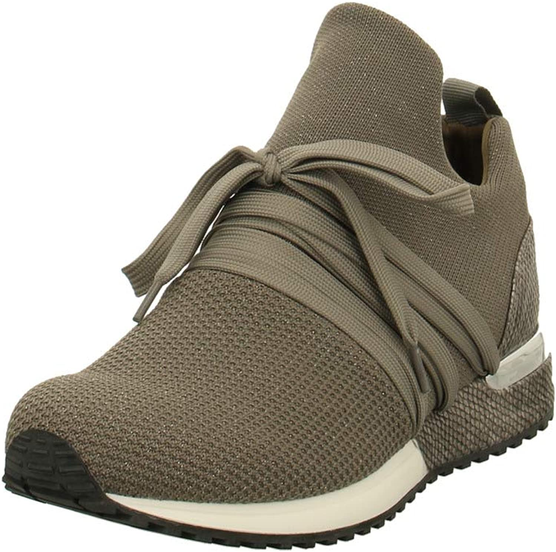 La Strada 1804297 - Damen Schuhe Freizeitschuhe - 4525-knitted-taupe-s