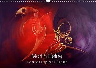 Martin Heine - Fantasien der Sinne (Wandkalender 2021 DIN A3 quer): Martin Heine - Living Artspace - Kunstkalender Acryl u...