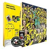Calendario de Adviento, calendario de Navidad de tu Bundesliga Lieblingseins 2021 – Incluye pegatinas y marcapáginas gratis con los amantes del fútbol