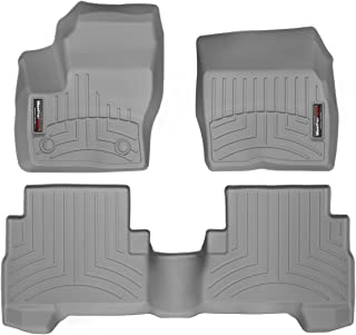 WeatherTech Custom Fit FloorLiner for C-Max/Escape - 1st & 2nd Row (Grey)