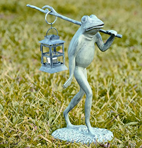 SPI Home 33074 Walking Frog Lantern