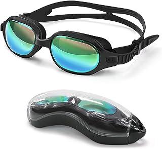 Letsfit Swim Goggles, No Leaking Anti-Fog Indoor Outdoor...