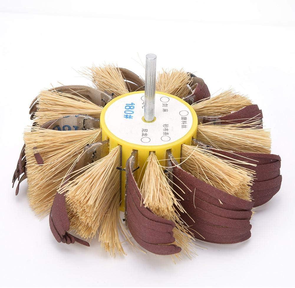 Buffing Wheel Abrasive Cloth Seasonal Wrap Introduction Polishing Max 63% OFF Manual for Brush Electri