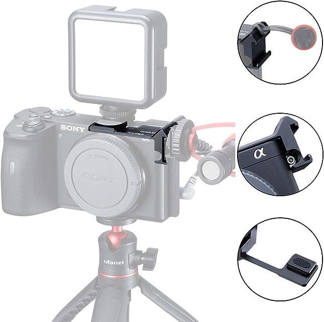 Cold Shoe - Micrófono para cámara Sony A6000