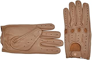 Genuine Leather Driving Gloves for men