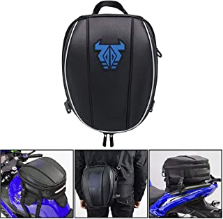 Mochila de assento de motocicleta – Bolsa dupla à prova d 'água para assento e motocicleta, sacos de sela multifuncionaisJ...