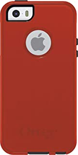 OtterBox Commuter Series for iPhone SE, iPhone 5S, iPhone 5 Bulk Packaging Bolt (Lava Orange/Slate Grey)