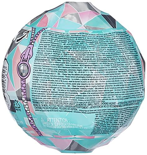 MGA- Poupée L.O.L. Surprise Glitter Globe de la série Winter Disco avec Cheveux Scintillants Toy, 561613, Multicolore