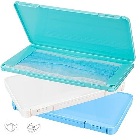 A Caja para Guardar Mascarillas N Bolsa Port/átil de Almacenamiento de Mascarillas Ligero y Reutilizable M/áscaras Organizador