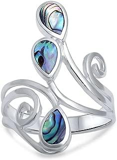 wrap around finger ring