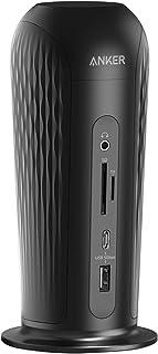 Anker PowerExpand 12-in-1 USB-C PD Media Dockドッキングステーション 60W出力 USB Power Delivery 4K対応 HDMIポート ディスプレイポート USB-Cポート USB-Aポート...