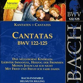 Bach, J.S.: Cantatas, Bwv 122-125