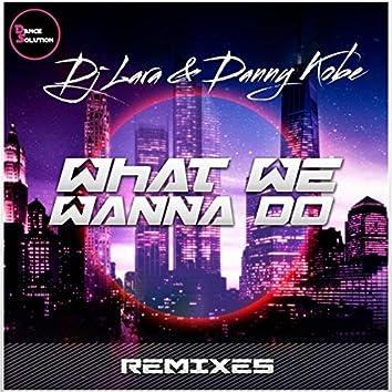 What We Wanna Do - Remixes