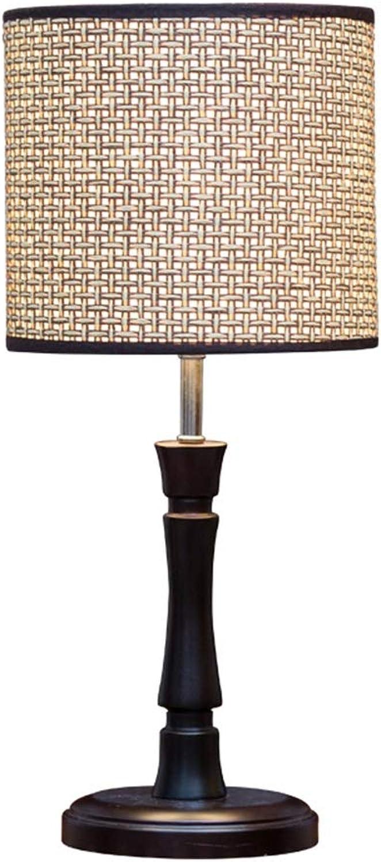 JUNBON Licht Moderne Holztisch Lampe Schlafzimmer Wohnzimmer Nachttischlampe