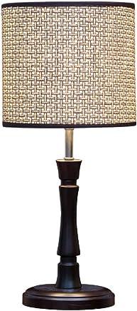@テーブルランプ ライトモダン木製テーブルランプベッドルームリビングルームのベッドサイドランプ