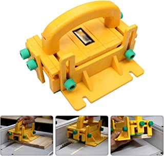 WREOW Push Block 3-Directional Safety Woodworking Pushblock for Table Saws, Router Tables, Jointers and Band Saws