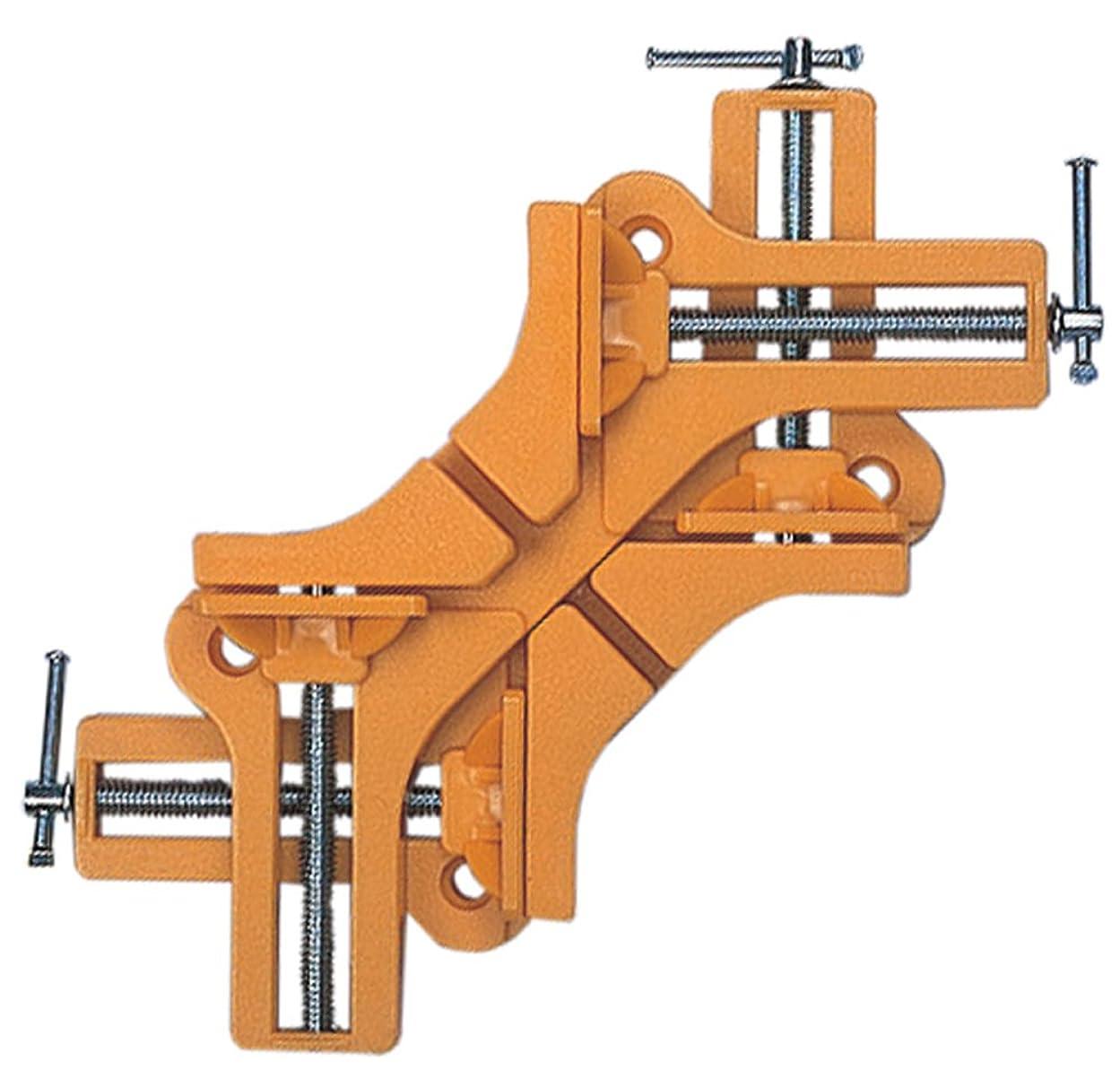 十年調整可能移動するスリーアキシス(three axis) 2ピース コーナークランプ プラスチック製 14335