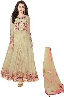 Rama Fashion Dupatta(RF115_Cream_Large)