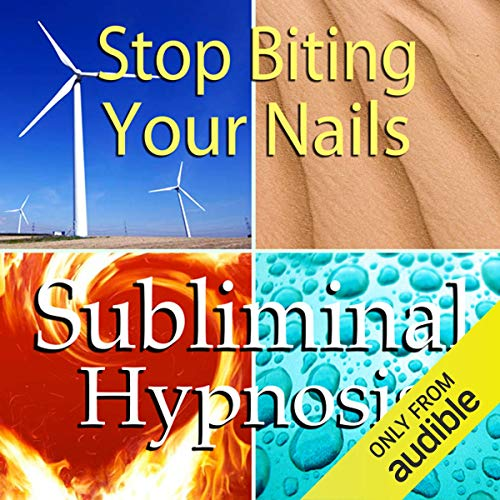 Stop Biting Your Nails Subliminal Affirmations audiobook cover art