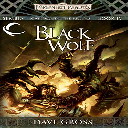 Black Wolf audiobook cover art