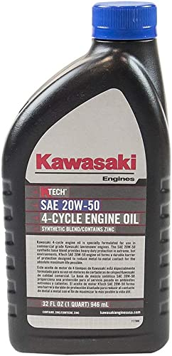 new arrival Kawasaki Genuine 20W50 Motor 2021 4-Cycle Engine K-Tech popular Oil Quart Bottles 99969-6298 online