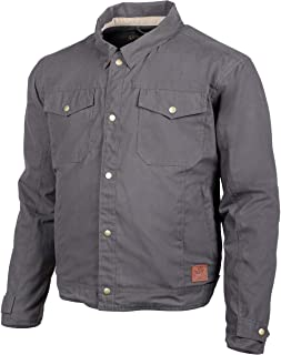 Cortech Denny Canvas Jacket (X-Large) (Charcoal)