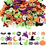 Pegatinas de Halloween de 600 Piezas Pegatinas de Espuma Con Purpurina Pegatinas de Halloween para...