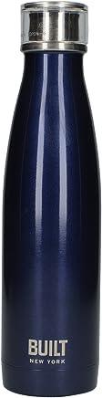 Garrafa Termica Com Tampa Parede Dupla Azul 480 Ml Az