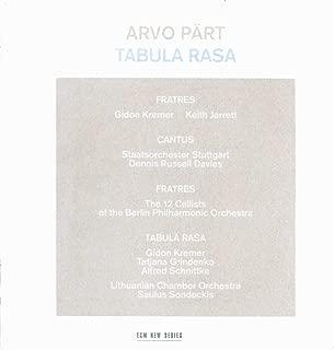 Arvo Part: Tabula Rasa