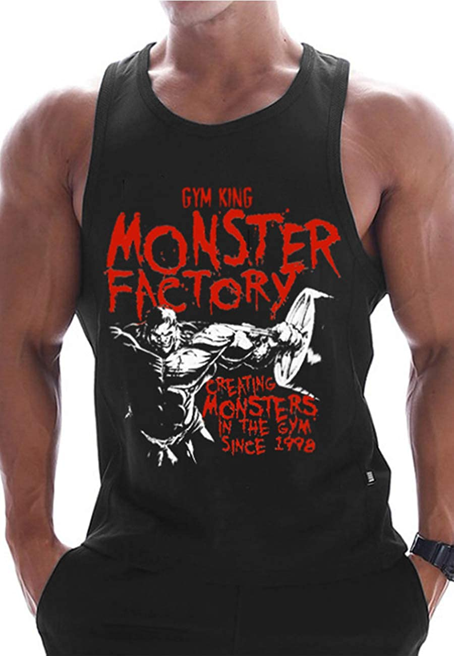 wholesale ROWILUX Mens Fitness Sales of SALE items from new works Print Tank Tops Sleeveless G T-Shirt Active