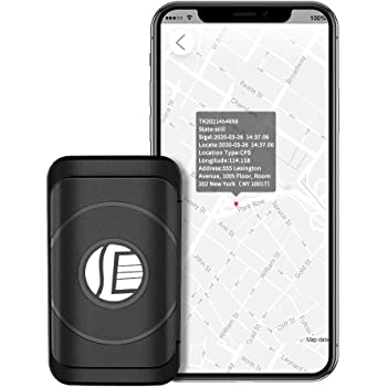 GPS Tracker for Vehicles, KKUYI 2020 Model for Car, Bicycles, Travel, Kids, Seniors, Dog Pet and More, Mini Magnetic Hidden Tracking Device Using GPS/AGPS Dual Position, Track Target's Real-Ti