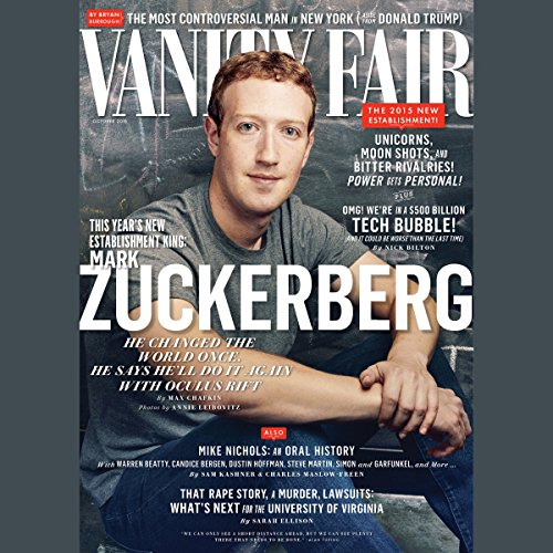 Vanity Fair: October 2015 Issue cover art
