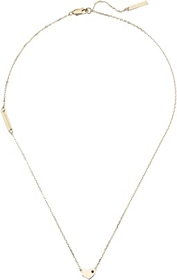 Marc Jacobs - Something Special Heart Pendant Necklace