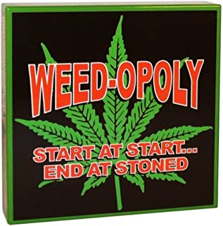 WorldWise Imports Weed-Opoly the game