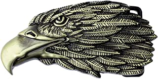 Mens American Eagle Belt Buckles Western Cowboy Native USA Belt Buckle