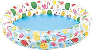 Inflatable Stars Kiddie 2 Ring Circles Swimming Pool