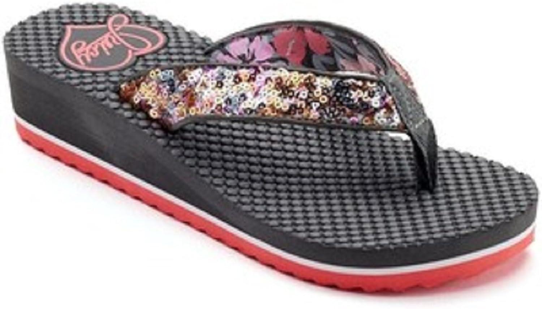 Juicy Couture Women's Wedge Flip-Flops