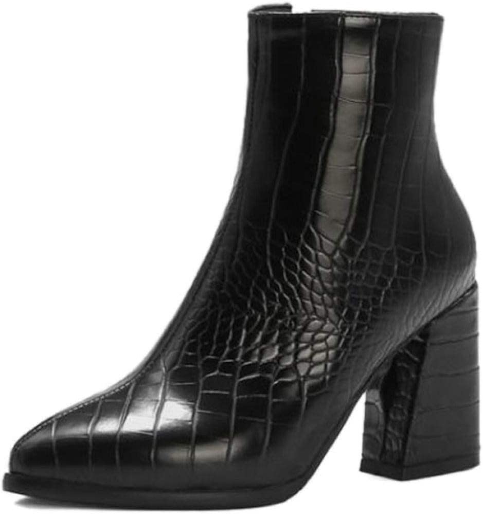 FMTZZY High Heels for Women Women's Toe Challenge the lowest price Booties Ankle Elegant Pointed Co