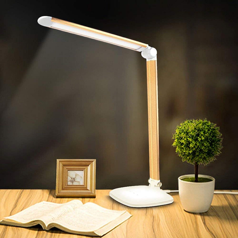 Zhang Ying ZY  Kupfer Materialien Einstellbare Winkel Tischlampe Touch DREI Gnge Dimmable LED Tischlampe Freizeit Lesen Büro Studie Augenschutz Schreibtisch Licht