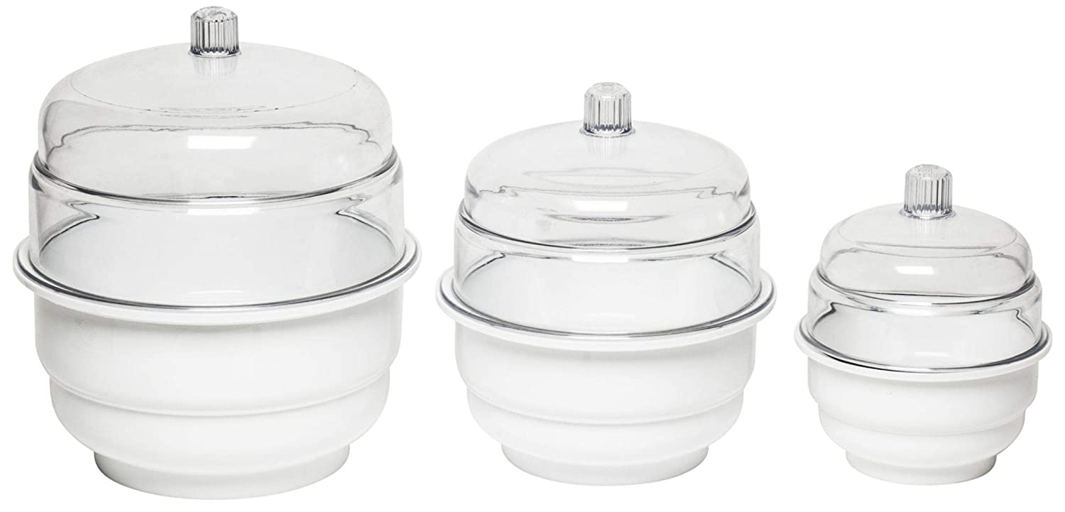 Bel-Art Max 71% OFF Science Ware Non Vacuum Limited time trial price Bottom Polypropylene Desiccator