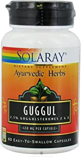 Solaray - Guggul Gum Extra, 60 capsules