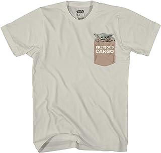 Star Wars The Mandalorian Baby Yoda Precious Cargo Camiseta oficial para adulto