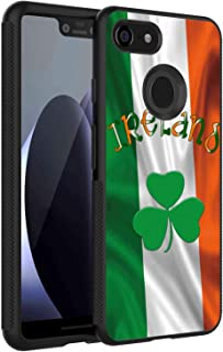 Flag Ireland Case Fits for Google Pixel 3 XL (6.3in)