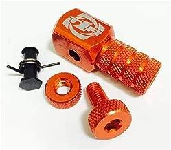 Torc1 Racing Reaction Shift Lever Replacement Tip (Orange/Black Medium)
