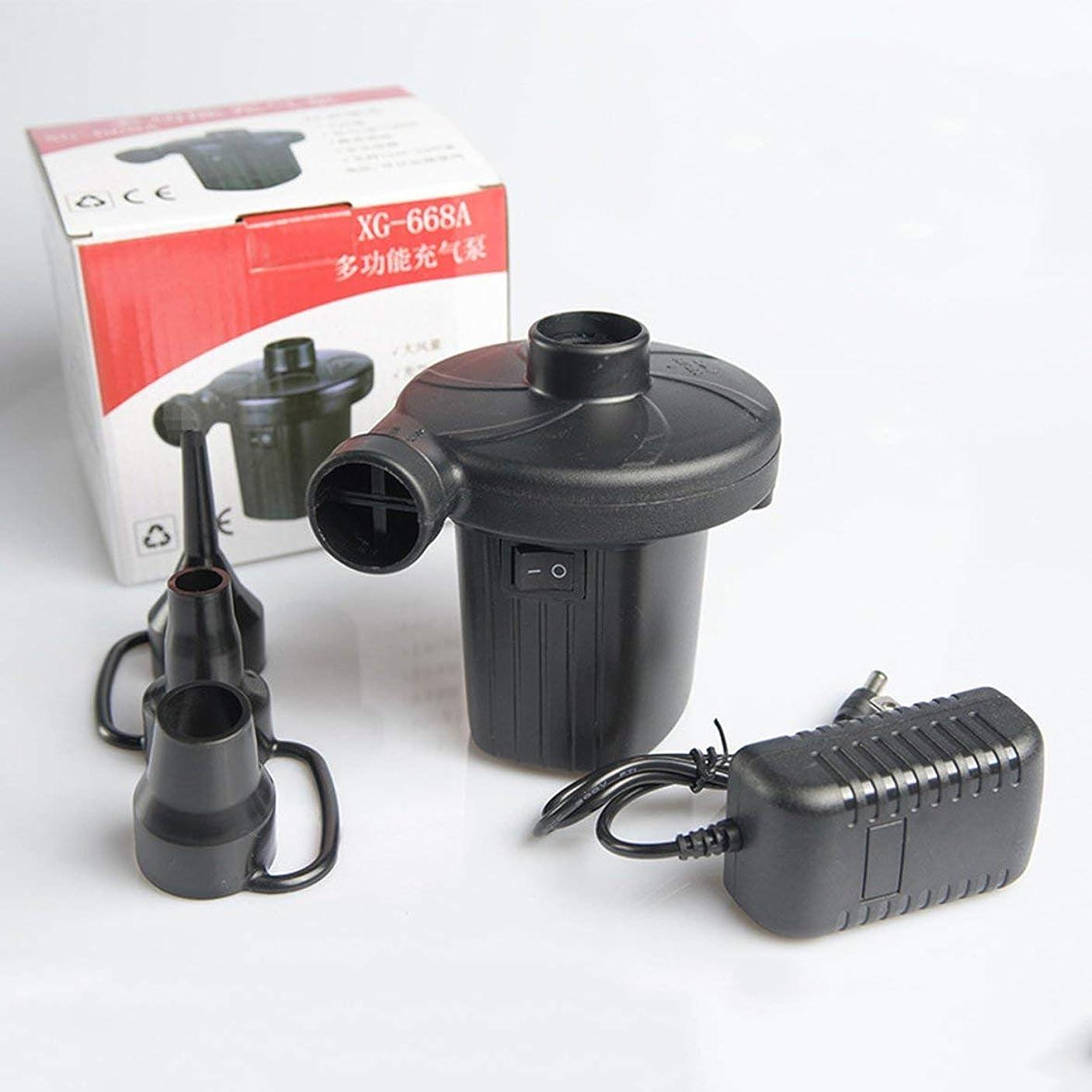 期限にやにやピースBlackfell AC電気エアーポンプの家の膨脹は100V | 240V / 12V家庭用電化製品の小さい耐久のエアーポンプのために適したのために収縮します