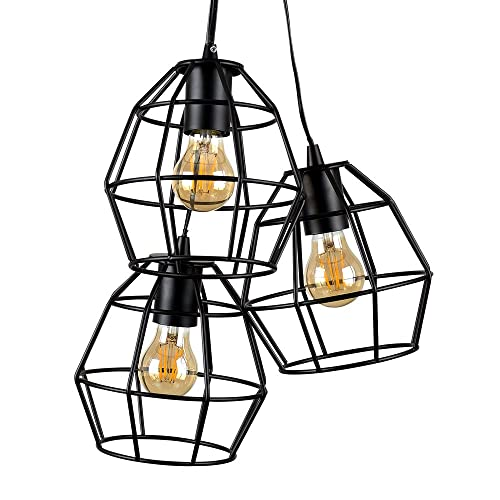 Triple Pendant Ceiling Lights Amazon Co Uk